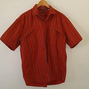 Men's Striped REI Outdoor Shirt